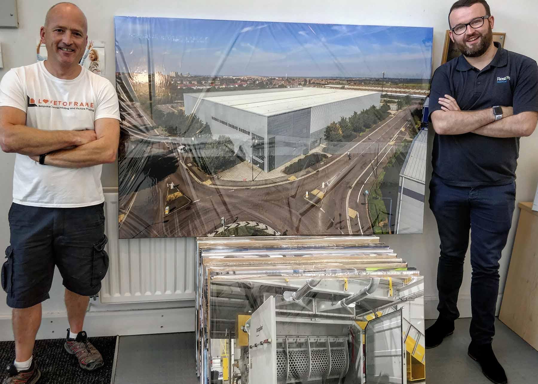 Canvas Prints Large Frame
