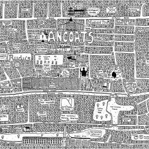 Ancoats Doodle Map