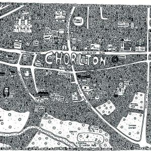 Chorlton Doodle Map