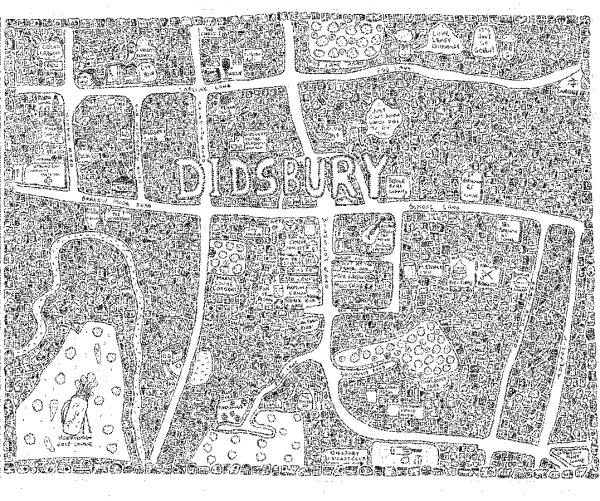 Didsbury Doodle Map