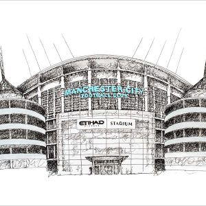 Etihad Mat Pickles Sketch