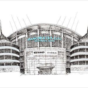 Etihad Mat Pickles Sketch