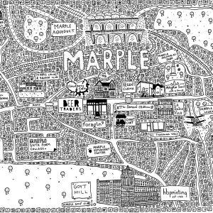 Marple Doodle Map