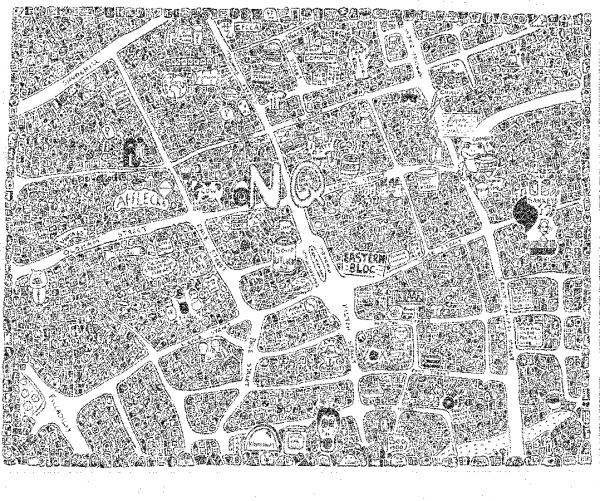 Northern Quarter Doodle Map