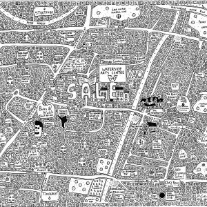Sale Doodle Map
