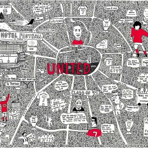 Manchester United Doodle Map