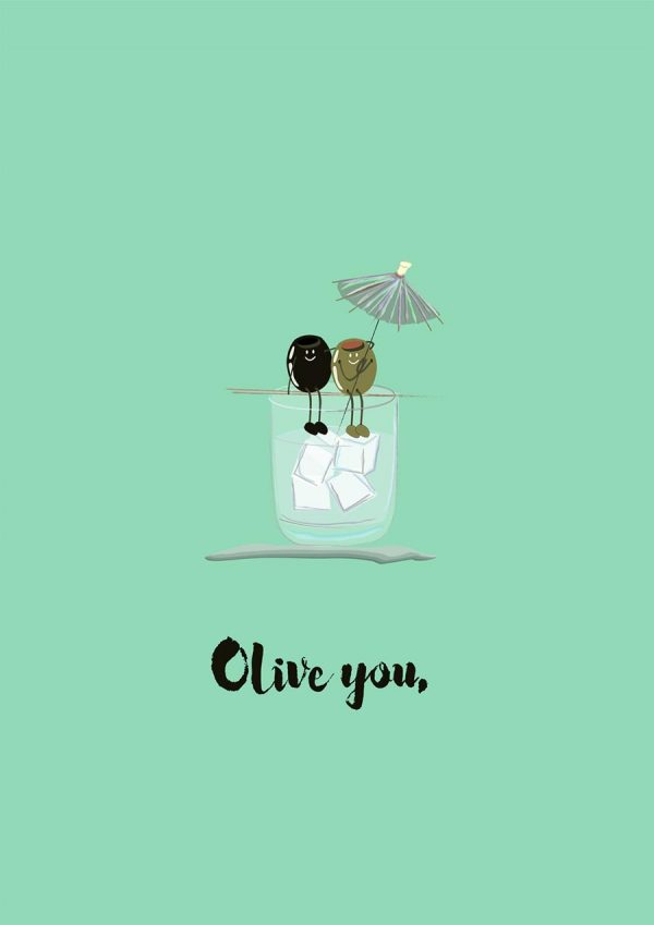 olive you print