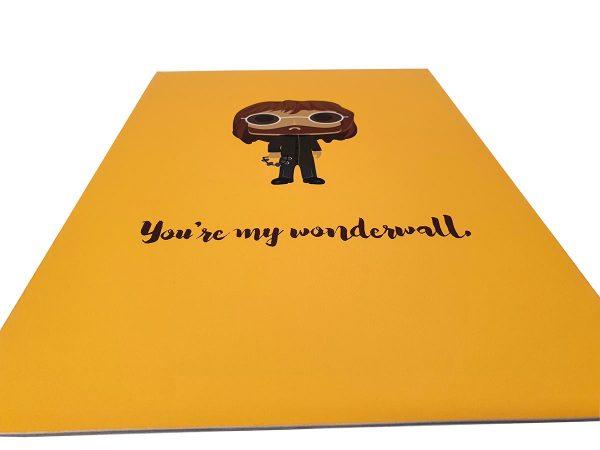 you're my wonderwall fine art print